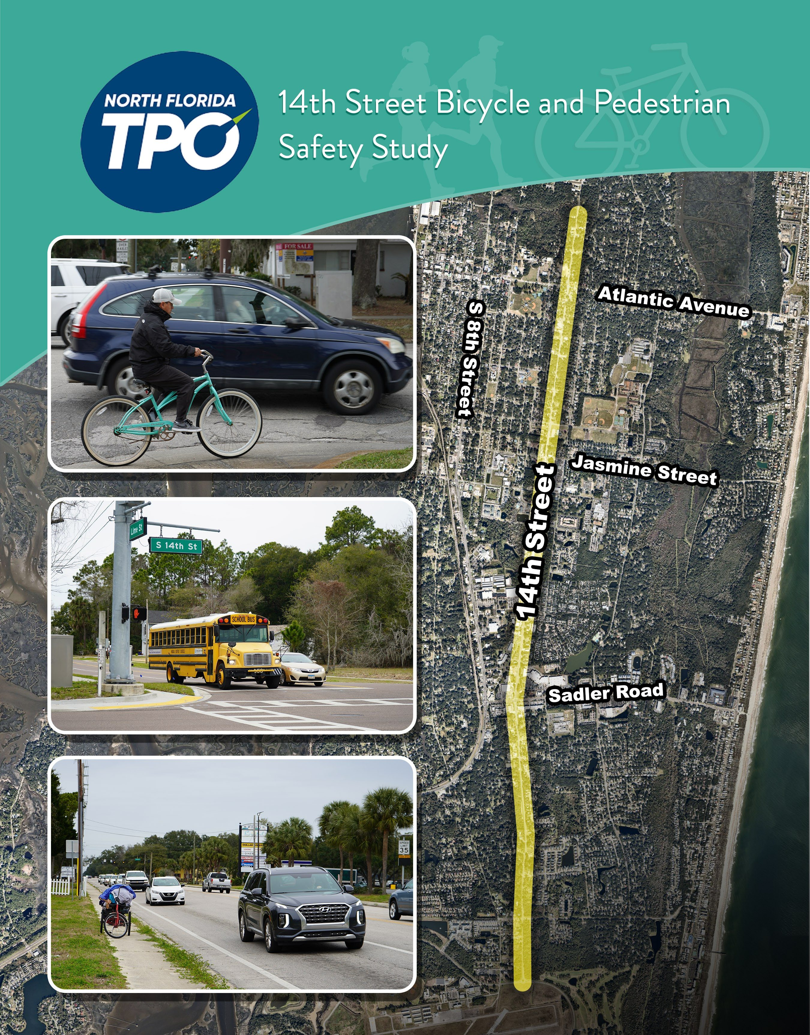 14th St Bike Ped Safety Study July2021 cover